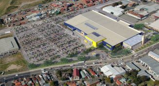 Aerial view of Ikea Tempe