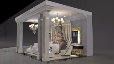 Giorgio Armani Loungeroom stand