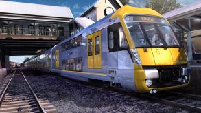 Train at Station
