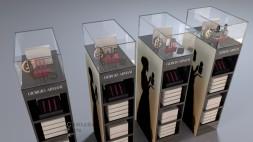 4 Giorgio Armani Stockers with product