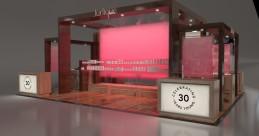 3D visualisation of Jurlique 30 Years Display