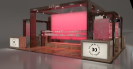 3D visualisation of Jurlique 30 Years Display