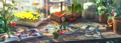 Title sequence frame from Gardening with Madi