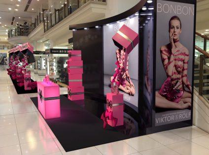 Viktor and Rolf Bonbon Display Stand Myer Sydney