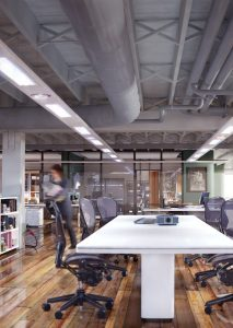 Office image with lighting